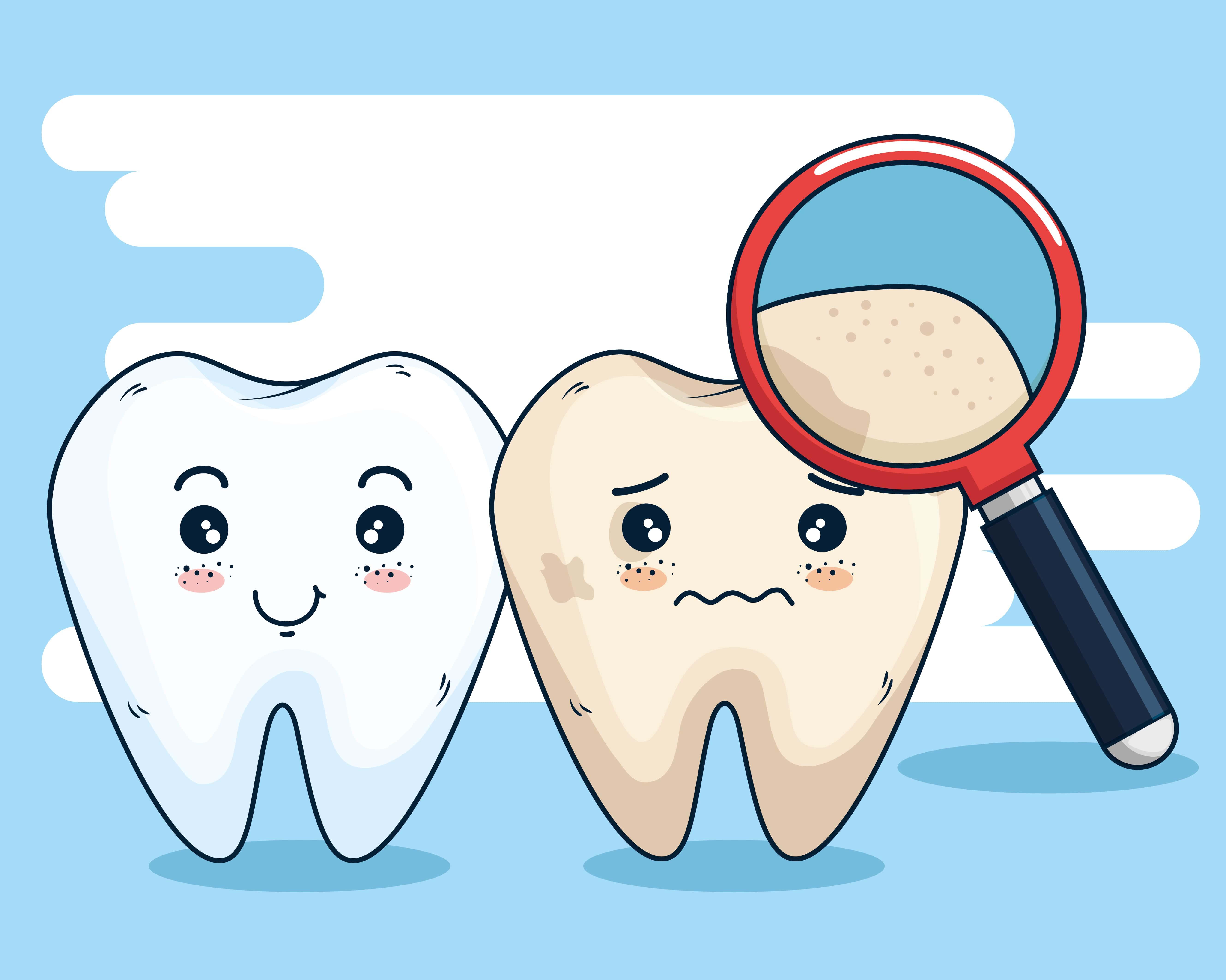 càries dents